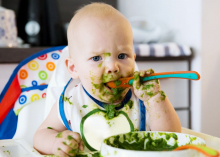 When to introduce solid food to your baby