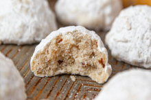 Brown Butter Wedding Cookies