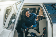 Car seat safety for children under three